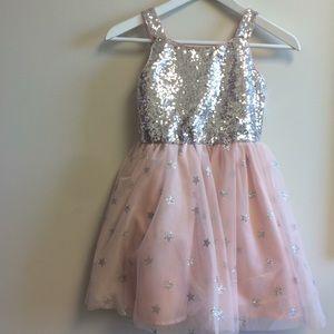 Cat & jack girl's dress medium